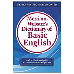 Merriam Webster Dictionary of Basic English, Paperback, 800 Pages