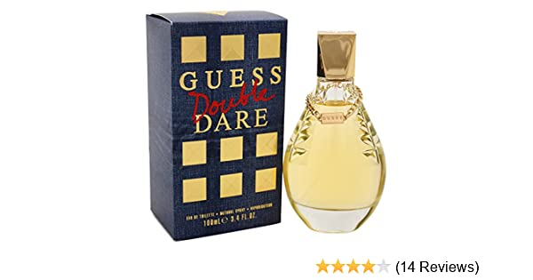 Amazoncom Guess Double Dare Eau De Toilette Spray 34 Ounce Beauty