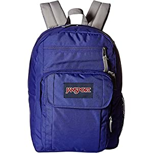 JanSport Unisex Digital Student Violet Purple Backpack