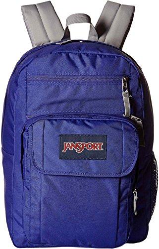 JanSport Unisex Digital Student Violet Purple Backpack by JanSport