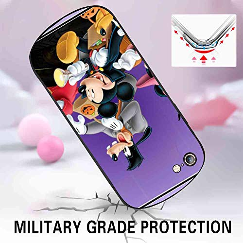 DISNEY COLLECTION PC and TPU Case for iPhone 6/6s Halloween Mickey Mouse and Minnie Mouse Goofy Donald Duck Pluto Disney Halloween -