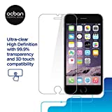 iPhone 7, 6S, 6 Tempered Glass Screen Protector X-TREME Hardness with ShatterSaver Technology Perfect Glass Protector for for Apple iPhone 7, iPhone 6S, iPhone 6