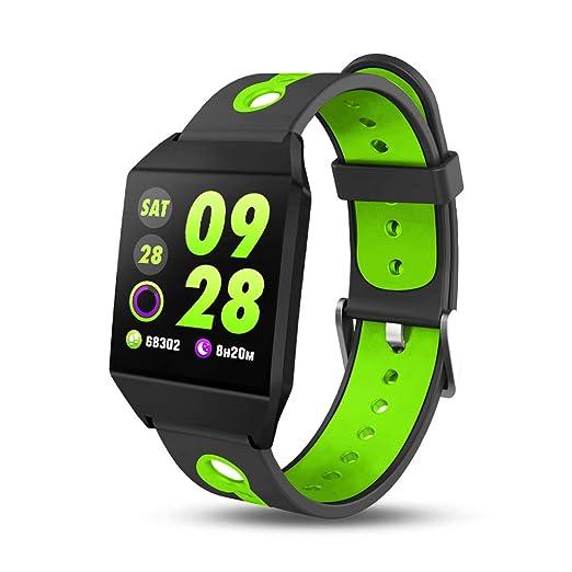 Reloj Inteligente,Reloj Deportivo con altímetro/termómetro Incorporado, rastreador de Fitness para Correr, Senderismo y Escalada,Reloj Corriendo para ...