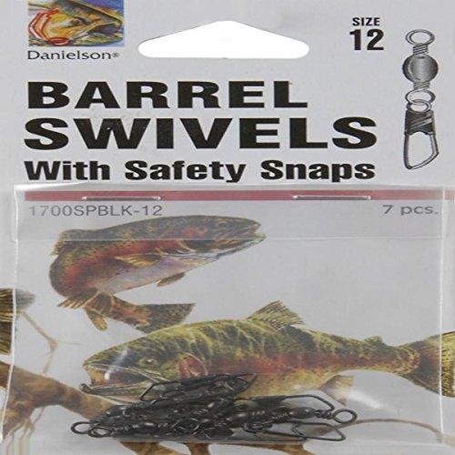Danielson Barrel Swivels Black Safety product image