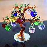 Crystal Apple Tree Decorative Apples 12 pcs Apples (Multicolor2)
