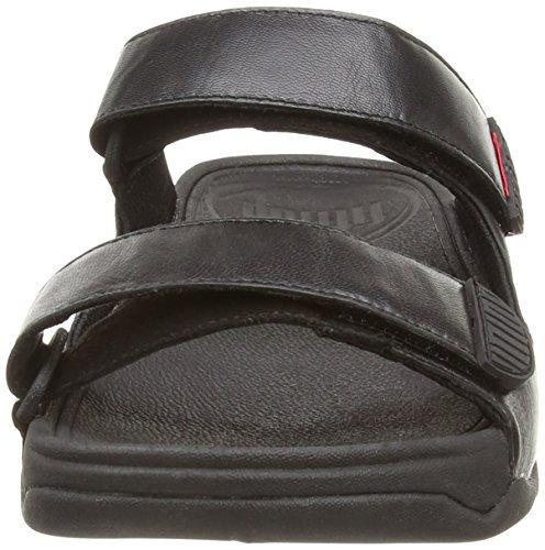 Sandalias Fitflop Para Hombre Gogh Slide Sport All Black