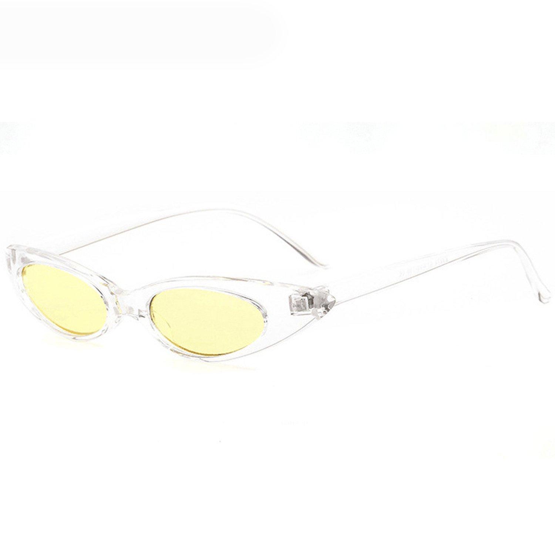 Amazon.com: Gafas de sol ovaladas pequeñas para mujer ...