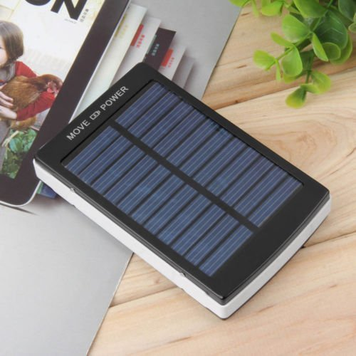 - 50000mAh Dual USB Portable Solar Battery Charger Power Bank for Cell Phone