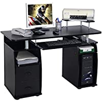 Generic YCUS150713-078 <8&08831> rniturefice Home R Home Raised Computer PC Desk Monitor&Printer Work Station Office Shelf Furniture Computer PC
