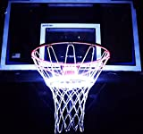 Light Up Action Basketball Net Basketball Goal Lighting System Multi-Colored Wireless