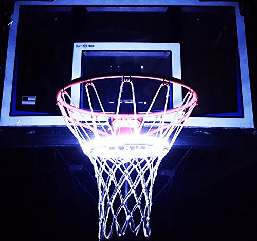 Light Up Action Basketball Net Basketball Goal Lighting System Multi-Colored with Wireless Remote