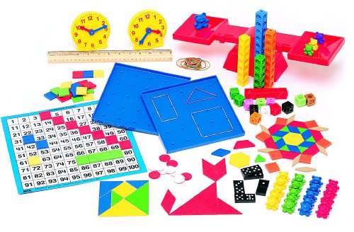 Saxon Homeschool: Manipulative Kit 1st Edition (Kindergarten Math Kit)