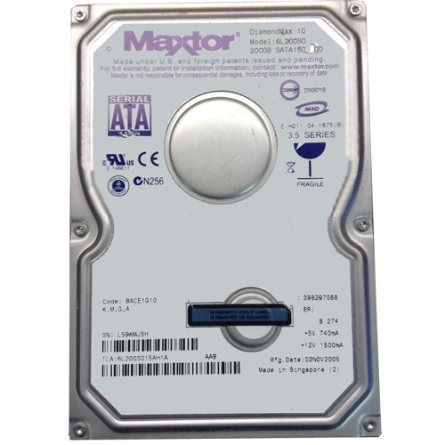 6L200s0 Seagate Maxtor Diamondmax-10 200Gb 7200Rpm Ultra Ata-133 3.5I