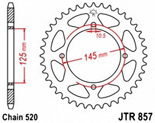 JT Sprockets JTR857.39 Rear Sprocket