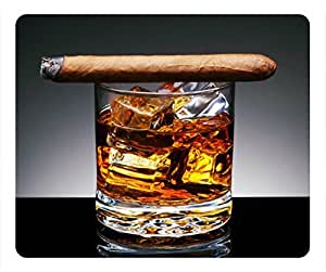 Whiskey and cigars DIY Masterpiece Limited Design Oblong Mouse Pad by Cases & Mousepads