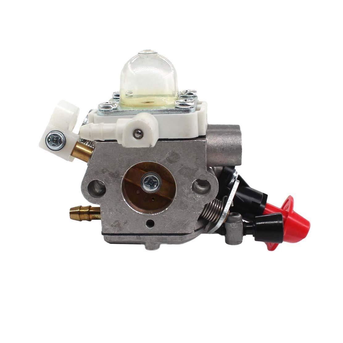 WANWU Carburateur Pi/èces de Rechange pour Stihl FS40 FS50 FS56 HT56 KM56 KN56 FS56C FS70 FS70C FC56C FC70 FC70C remplace ZAMA C1M-S267 4144-120-0608