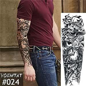Conjunto de 3 piezas conjunto de brazo grande tatuaje Maori power ...