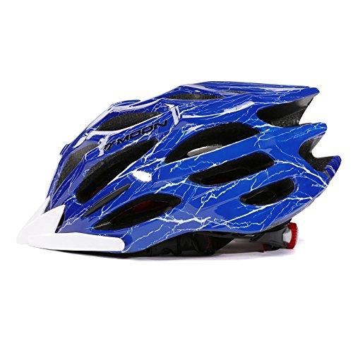 Fahrradhelm, Fahrradreif Polycarbonat Außenschalenhelm mit 27 Kühldüsen
