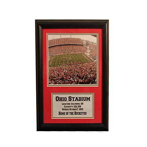 Encore Select 144-30 NCAA Ohio State Buckeyes Deluxe Frame, 11-Inch by 14-Inch ()