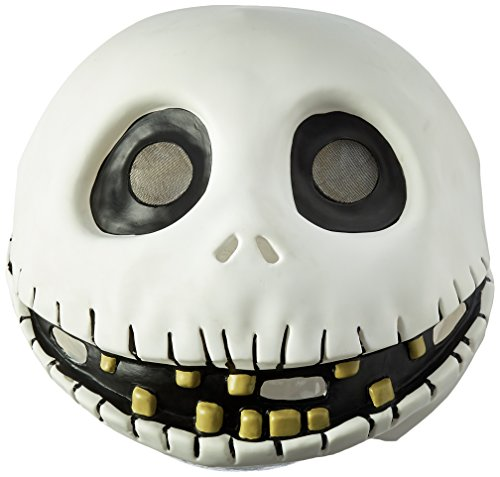 (Disguise Men's The Nightmare Before Christmas Jack Skellington Mask, One Size)