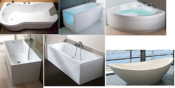 Vasca Da Bagno Disegno : Vasche da bagno in vtr su misura e disegno del cliente amazon