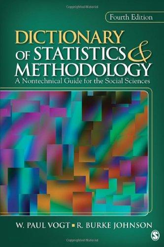 Dictionary Of Statistics+Methodology