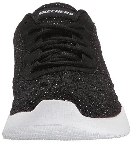 Black Nere White Skechers Blissful da BKW 12149 Dynamight Sneaker Donna 6q87n8wHB