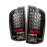Spyder Dodge Ram 1500 07-08 / Ram 2500 06-09 / Ram 3500 06-09 LED Tail Lights - Black