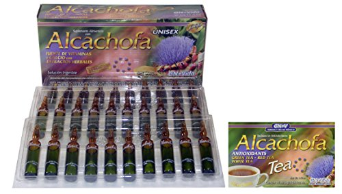 Ampolletas De Alcachofa