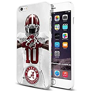 Zheng caseZheng caseNCAA Alabama football , , Cool iPhone 4/4s (6+ , ) Smartphone Case Cover Collector iphone TPU Rubber Case White [By PhoneAholic]
