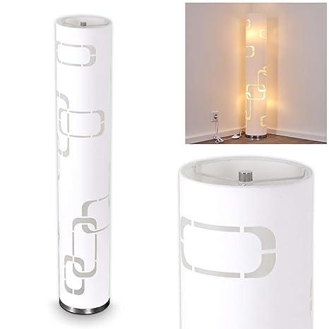 Lámpara de pie Tolbert blanco - para dormitorios - Salón ...