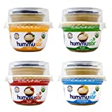 Organic Fresh Hummus, (Mixed Pack of 6, 7 ounce)