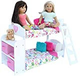 Image of PZAS Toys Bedroom Set for 18-Inch American Girl Doll, 20-Pieces