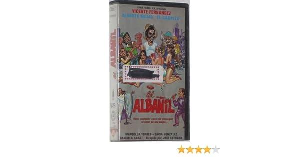 Amazon.com: El Albanil [VHS]: Vicente Fernández, Manoella Torres, Dacia González, Alberto Rojas, Graciela Lara, Orville Miller, Leandro Martínez, ...