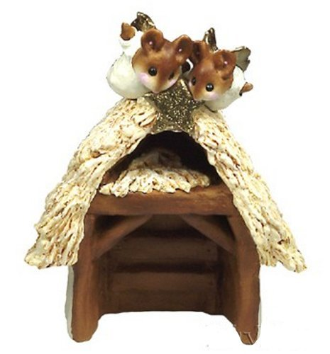 Wee Forest Folk M-144 Pageant Stable (Small Stable Nativity)
