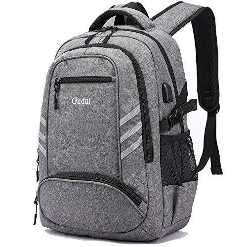 College Laptop Backpack, Laptop Bag Casual Backpack with USB Charging Port School Bookbag, Campus Backpack, Travel Bag Computer Bag Rucksack, Fits 15.6 Laptop & Notebook