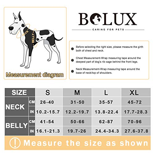 Adjustable Pet Reflective Oxford Soft Vest Harness with Leash Clips for Small Medium Large Dogs Pet No-Choke Halters with Nylon Handle Bolux No Pull Dog Harness