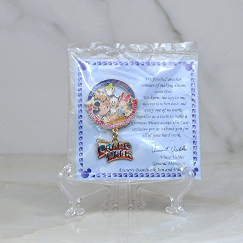 Walt Disney World Disney Cast Members - Making Dreams Come True Summer Boardwalk Dangle Pin Limited Edition Cast Member Exclusive - Vista Buena Lake Florida World Disney