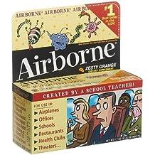 Airborne Effervescent Health Formula, Tablets, Original Zesty Orange, 12 ct. by Airborne