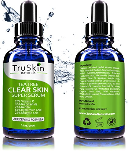 Tea-Tree-Clear-Skin-Serum-Age-Defying-formula-for-acne-prone-skin-with-20-Vitamin-C-Retinol-Niacinamide-Salicylic-Acid-Hyaluronic-Acid-for-Blemish-Free-Soft-Radiant-Youthful-Skin-1-oz
