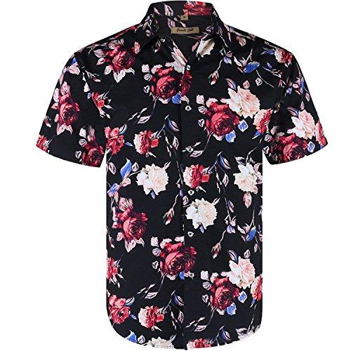 Rose Button Up Shirt - 1