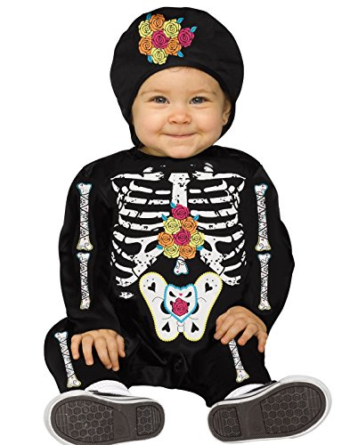 Day Dead Toddler Of The Costumes (Day of the Dead Baby Bones Skeleton Infant)