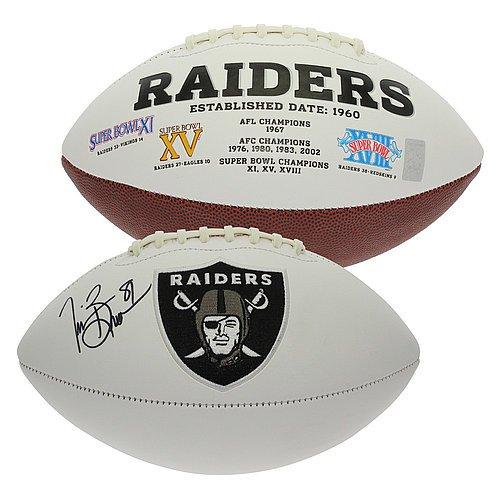 Oakland Raiders Signed Nfl Football - 4