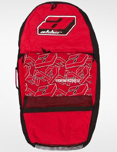 Alder System X2Zwei Bodyboard Tasche-Rot