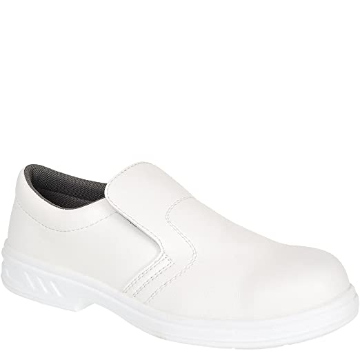 buy online 73870 08e64 8 opinioni per Portwest – Steelite Slip On scarpe di sicurezza s2 White 2 UK