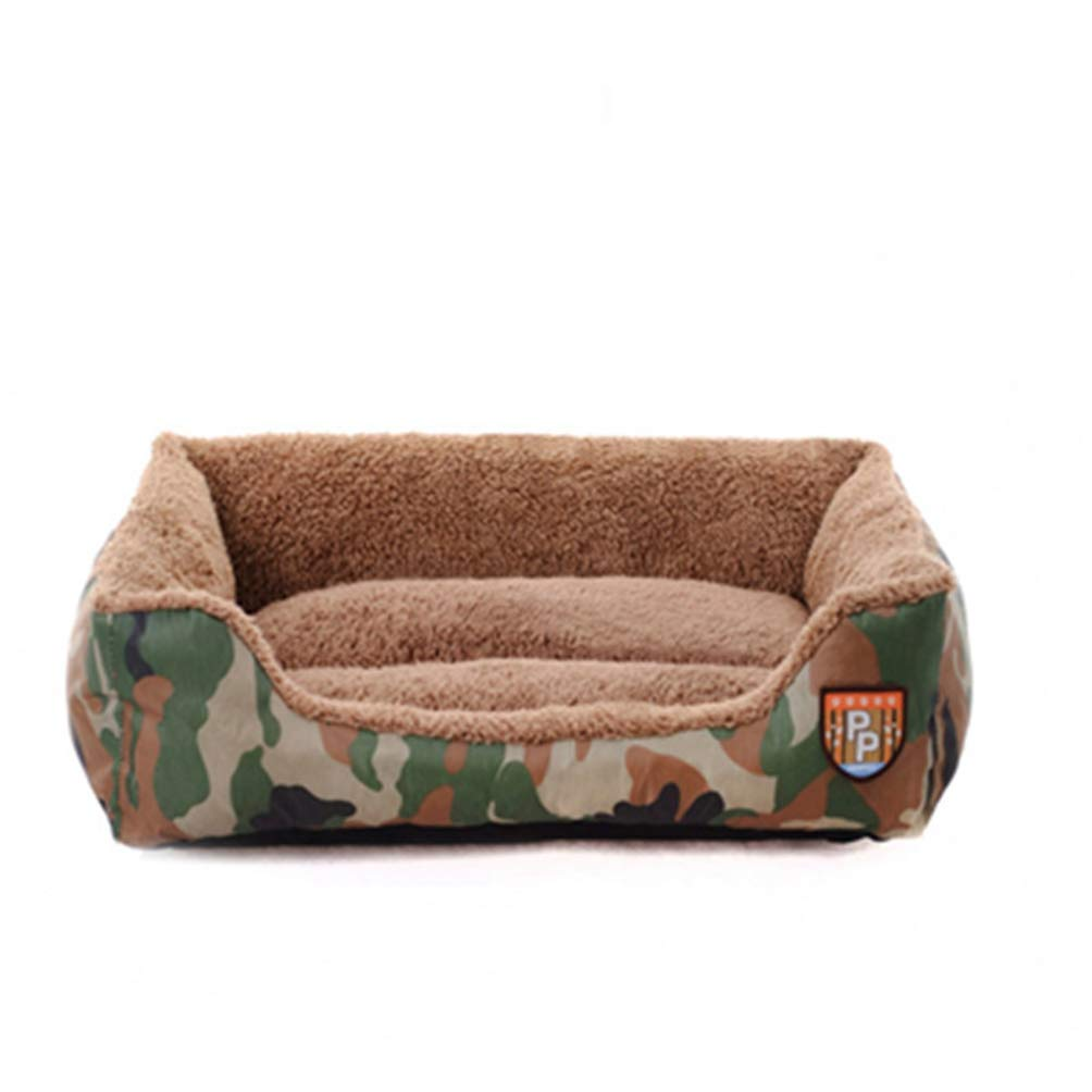 M Jim Hugh Winter Pet Warm Dog Beds Sofa for Small Medium Large Dogs Cushion Bench Soft Puppy Kennel Bench Dog House Pet Blanket