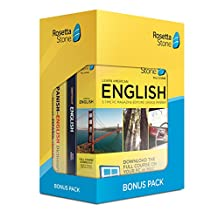 Rosetta Stone Learn English: Rosetta Stone Bonus Pack 24 Month Subscription with Lifetime Download