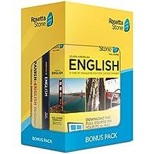 Learn English: Rosetta Stone Bonus Pack (24 Month Subscription + Lifetime Download + Book Set)