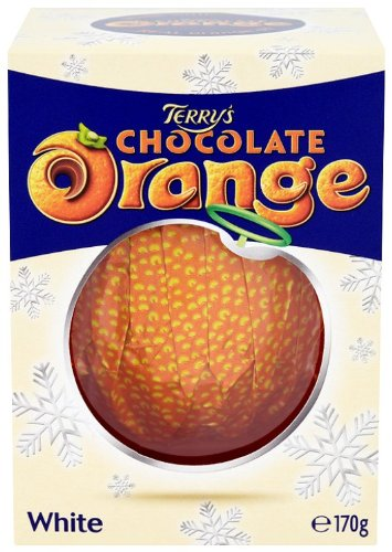 Kraft Terrys Chocolate Orange Ball White Chocolate 170 G Pack Of 6