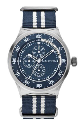 Nautica A14668G - Reloj de cuarzo para hombres, multicolor